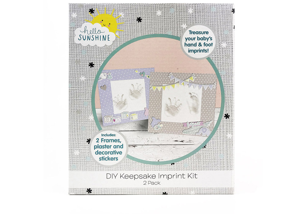 Hello Sunshine DIY Keepsake Imprint Kit Hunter Leisure Baby Bunting