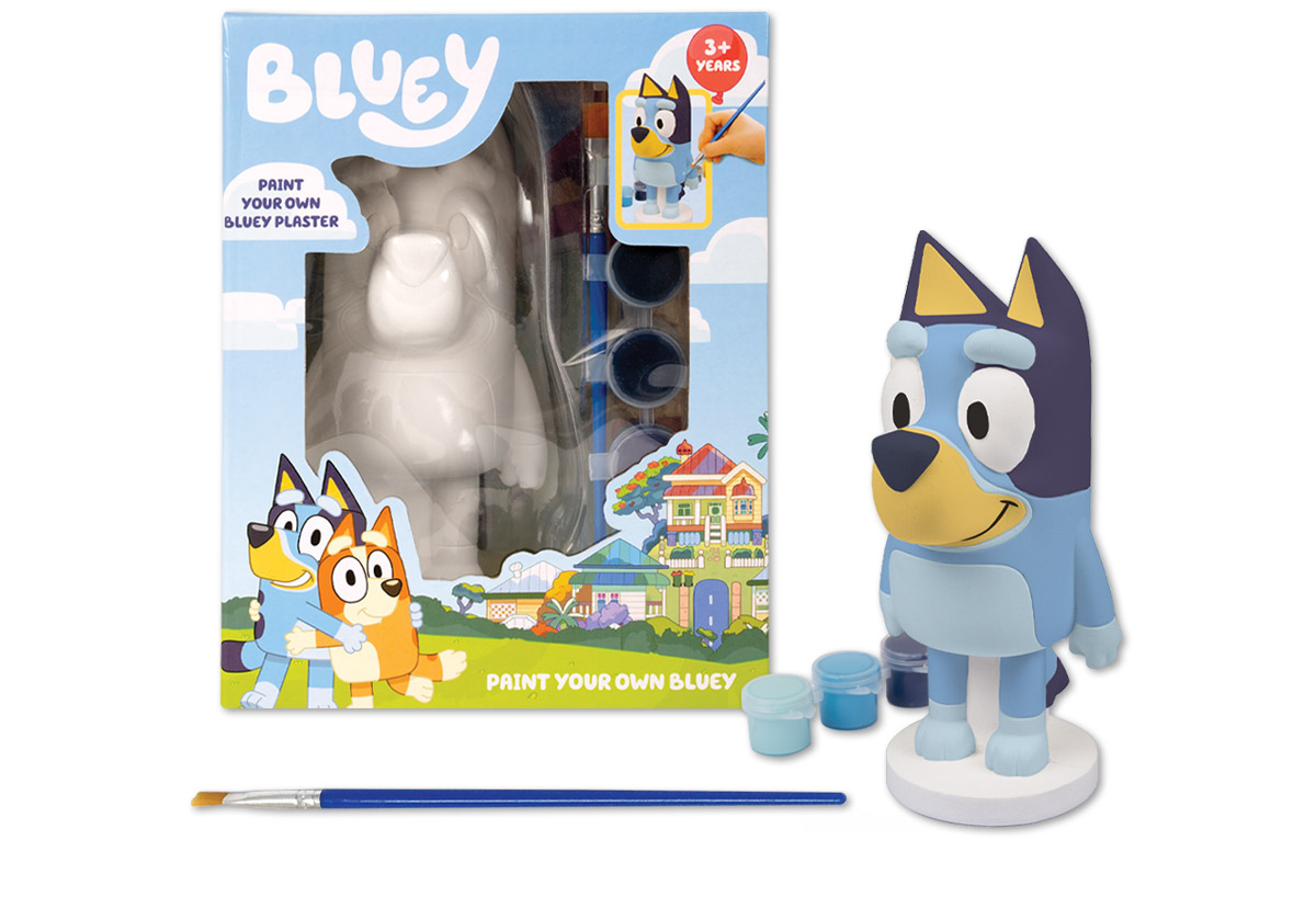 www.hunterleisure.com.au Bluey Paint Your Own Bluey Target