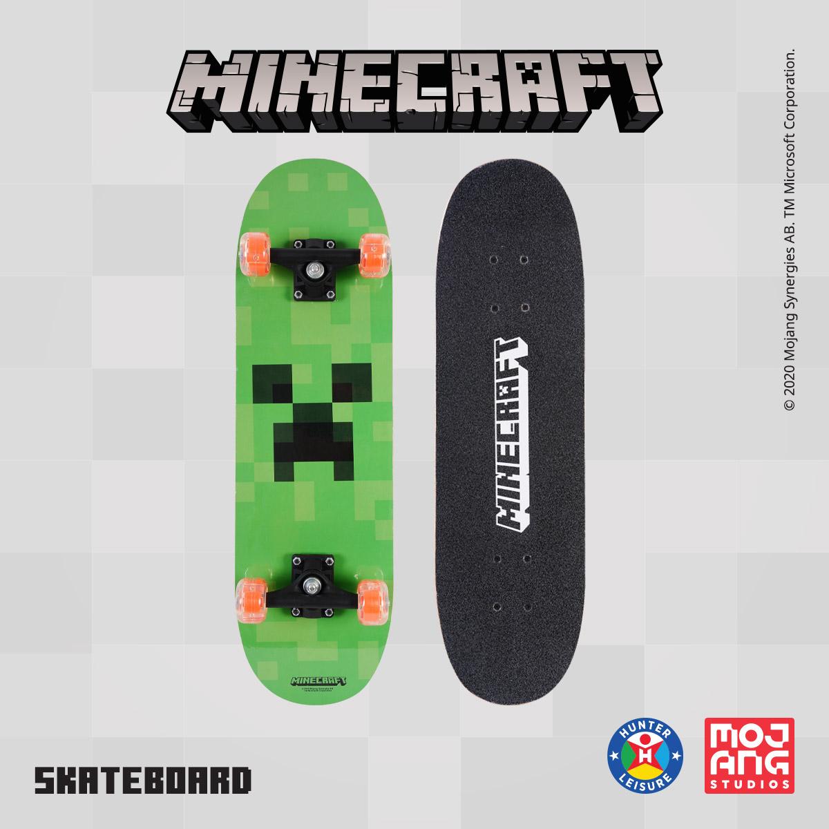 www.hunterleisure.com.au Minecraft Skateboard Big W Hunter Leisure