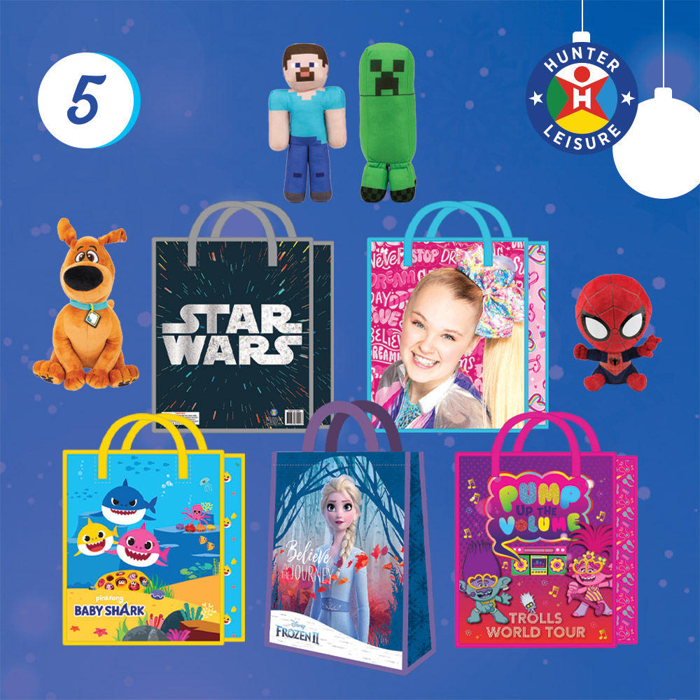 www.hunterleisure.com.au Christmas 2020 Showbags Plush Hunter Leisure