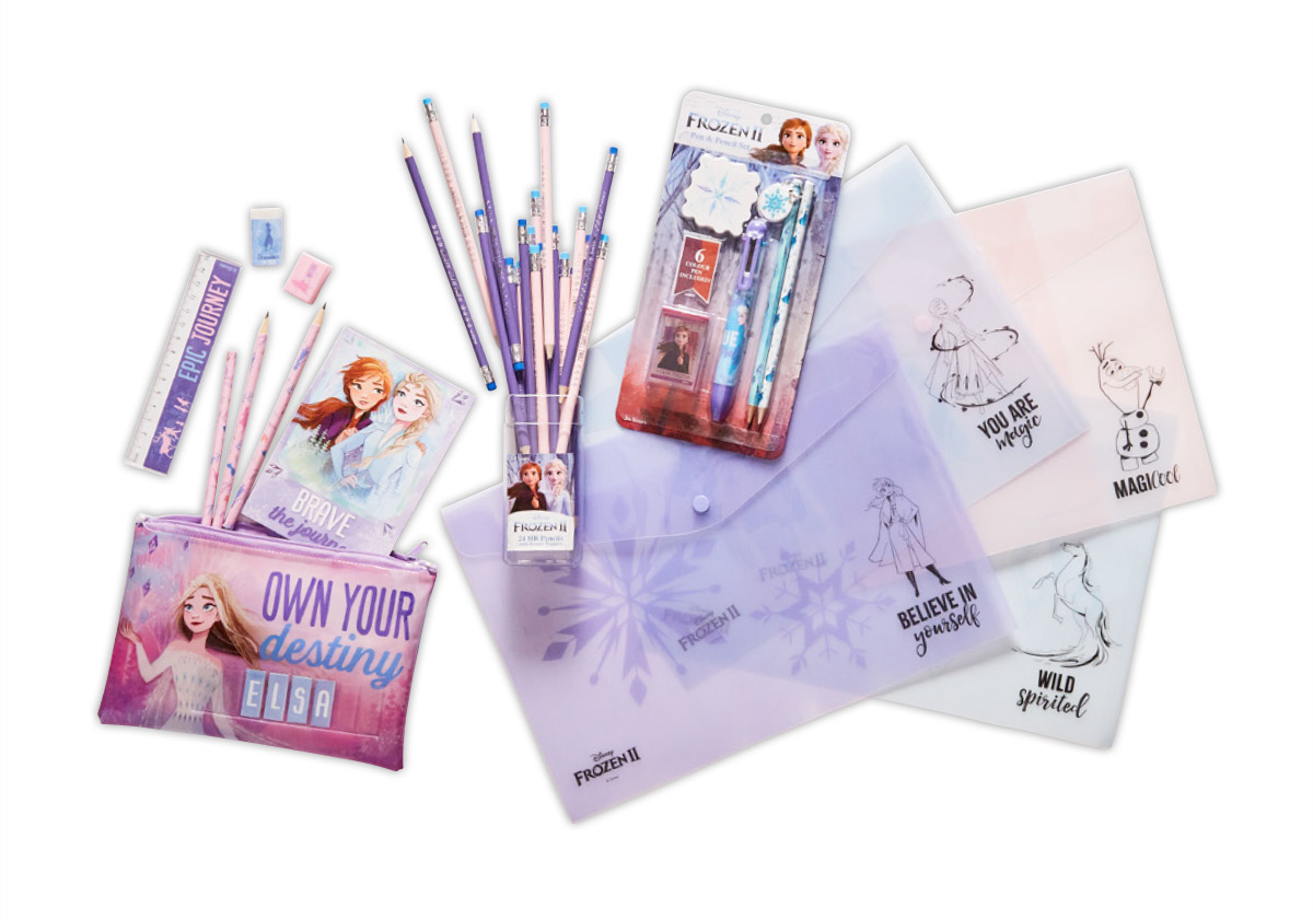 www.hunterleisure.com.au Disney Frozen II Stationery Big W Hunter Leisure