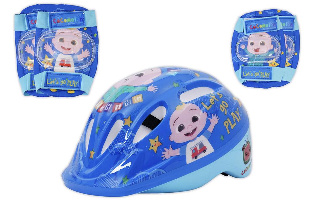 www.hunterleisure.com.au CoComelon Toddler Helmet with Pads Big W Hunter Leisure