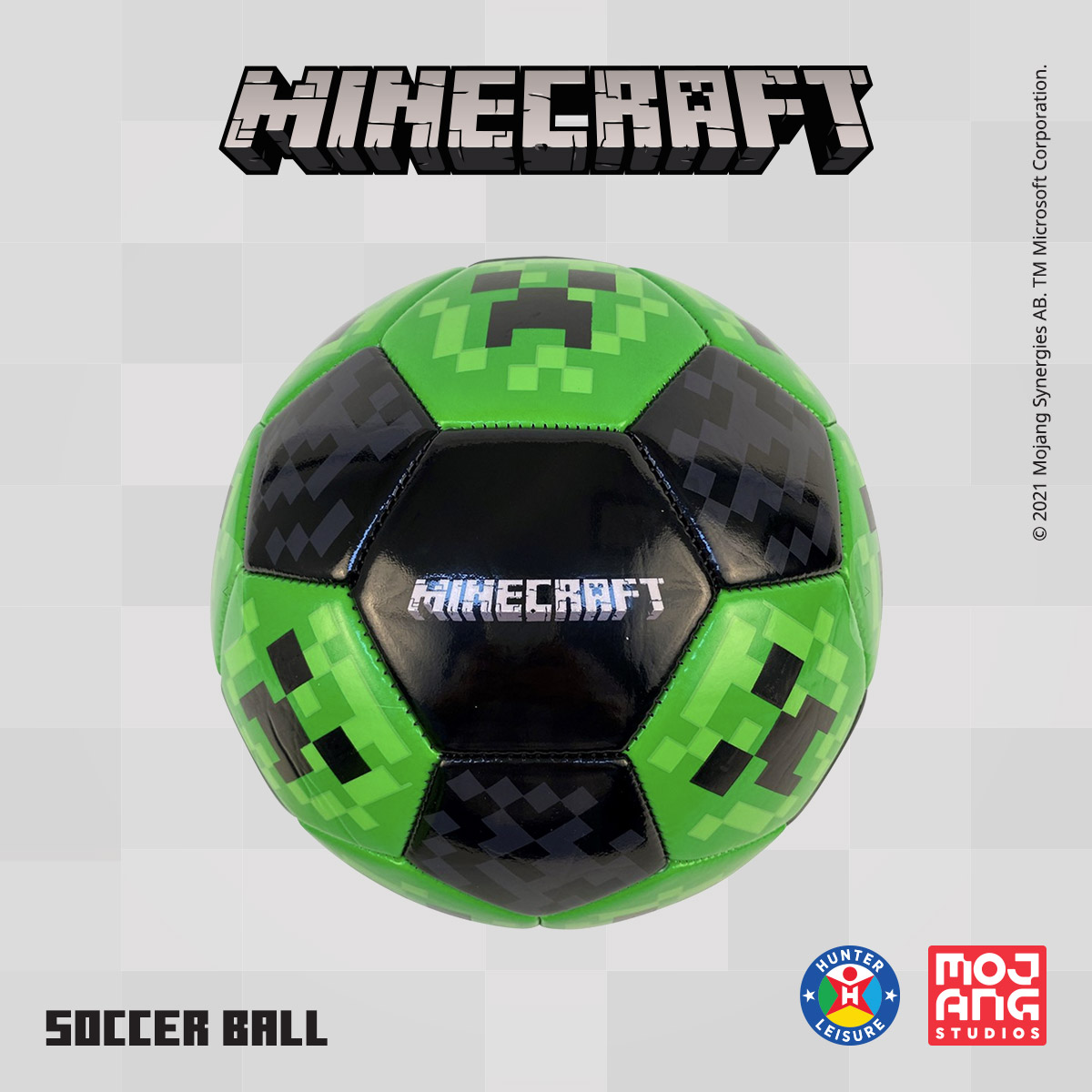 www.hunterleisure.com.au Minecraft Soccer Ball Big W Hunter Leisure