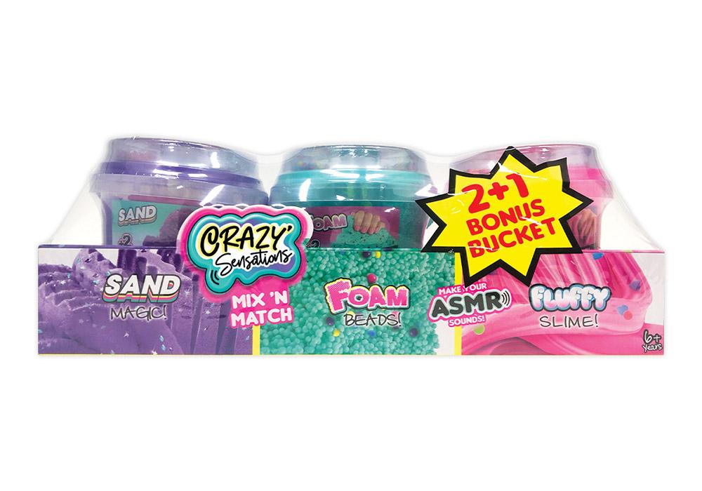 www.hunterleisure.com.au Crazy Sensations Mix n Match Buckets 3 Pack Kmart Hunter Leisure